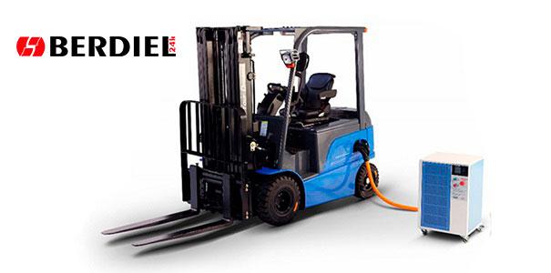 BYD Carretilla carga eléctrica BERDIEL